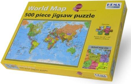 /world map jigsaw puzzle