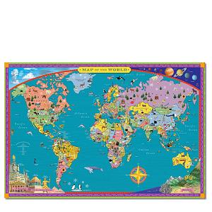 Eeboo world map
