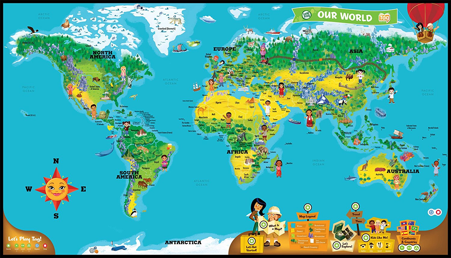World Map Interactive Leapfrog Interactive World Map