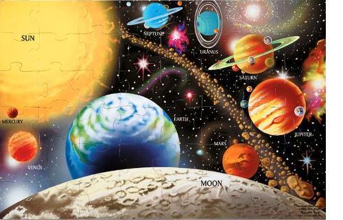 melissa doug solar- system puzzle