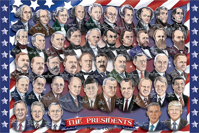 presidents of the usa puzzle