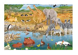 ravensburger african animals puzzle