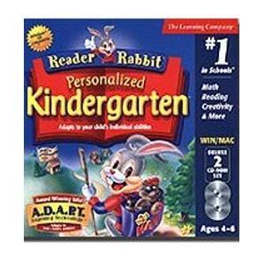 reader rabbit kindergarten video game