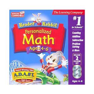 reader rabbit math video game